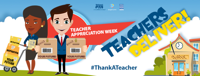 National Teacher Appreciation Week is May 8-12