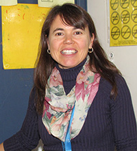 Julia Texeira, Barrington Middle School teacher